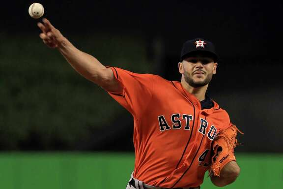 With his six shutout innings against the Marlins on Wednesday, Lance McCullers improved to 4-1 on the season and lowered his ERA to 2.65.