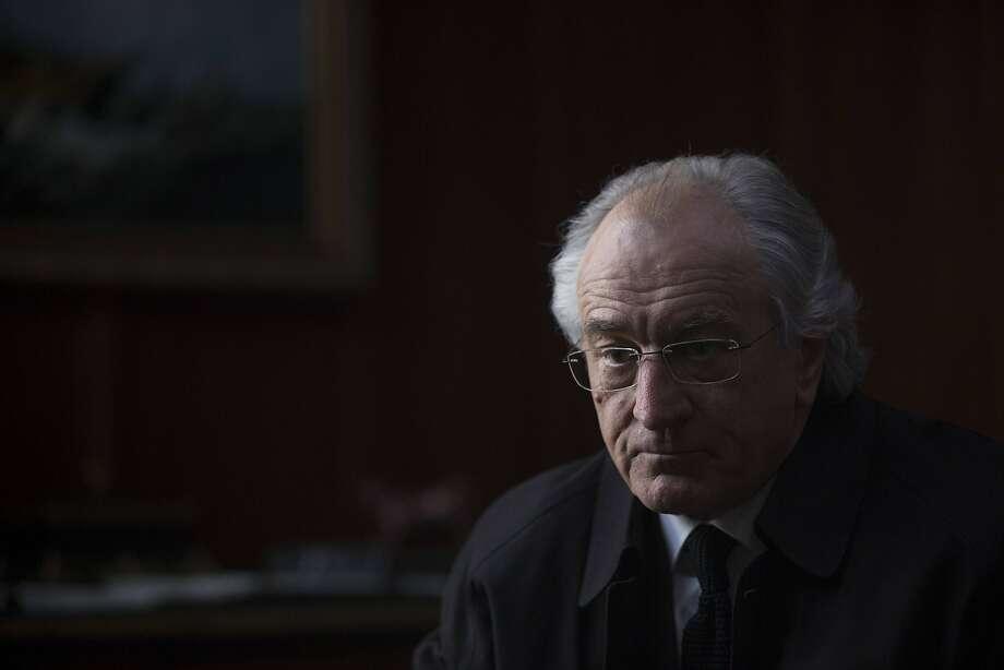 Robert De Niro plays Ponzi schemer Bernie Madoff in a new HBO drama. Photo: Craig Blankenhorn, Associated Press