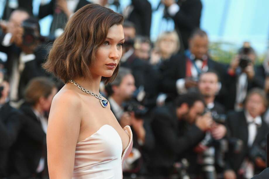 "CANNES, FRANCE - MAY 17:  Bella Hadid attends the ""Ismael's Ghosts (Les Fantomes d'Ismael)"" screening and Opening Gala during the 70th annual Cannes Film Festival at Palais des Festivals on May 17, 2017 in Cannes, France.  (Photo by Dominique Charriau/WireImage) Photo: Dominique Charriau/WireImage"