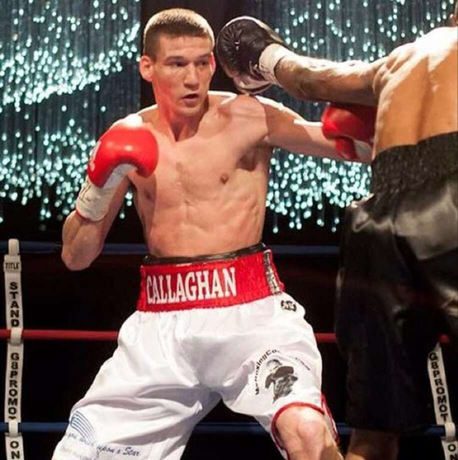 Craig Callaghan (17-1, 7 KOs), a transplant to Houston from Liverpool, England, outpointed Josue Garcia (7-5, 4 KOs) of El Paso over ten rounds at the Ballroom at Bayou Place. Photo: Courtesy: Craig Callaghan