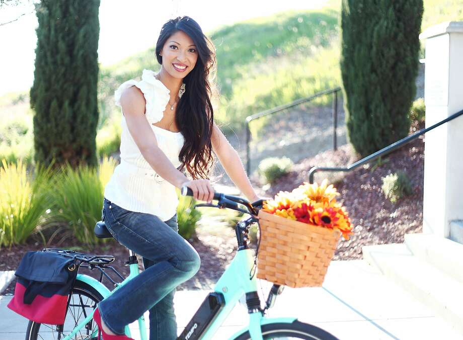 Disappointed by the one-size-fits-all approach, Van Nguyen (pictured) and her Silicon Valley-based company, Tempo Bicycles, designed an electric hybrid bike that would fit seamlessly into people's lifestyles. Photo: Tempo Bicycles