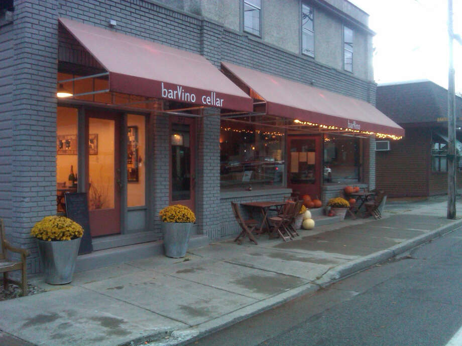 Exterior of barVino in North Creek.