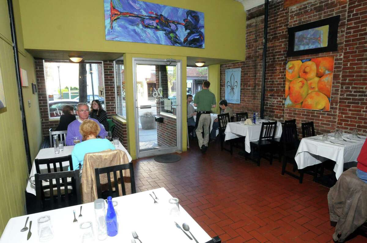 Bistro Tallulah, main dining area. In the Glens Falls N.Y. restaurant.