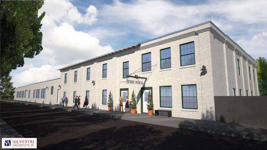 A ribbon-cutting ceremony is planned for Friday morning at the Wick Hotel in Hudson. The site was once home to a candle factory, but was converted into a full-service, 55-room hotel this year. (Thomas Rossi / Redburn Development Companies, Troy)