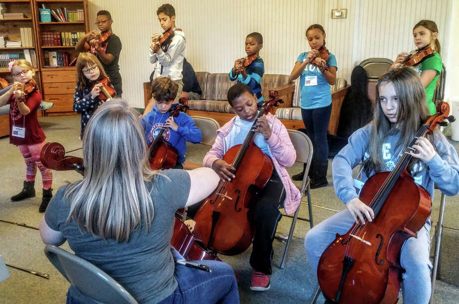 Courtesy photo Saginaw Strings will feature its 83 students, including some Midlanders, from seven classes in the 2017 Spring Concert  at 11 a.m. Saturday, May 20, at First Presbyterian Church, 121 S. Harrison St., in Saginaw.