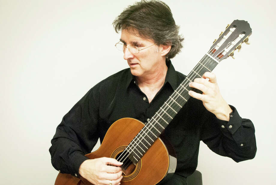Courtesy photo  Classical guitarist Brad DeRoche will perform two selections at the concert, which is at 3 p.m. Sunday at Bullock Creek Auditorium.