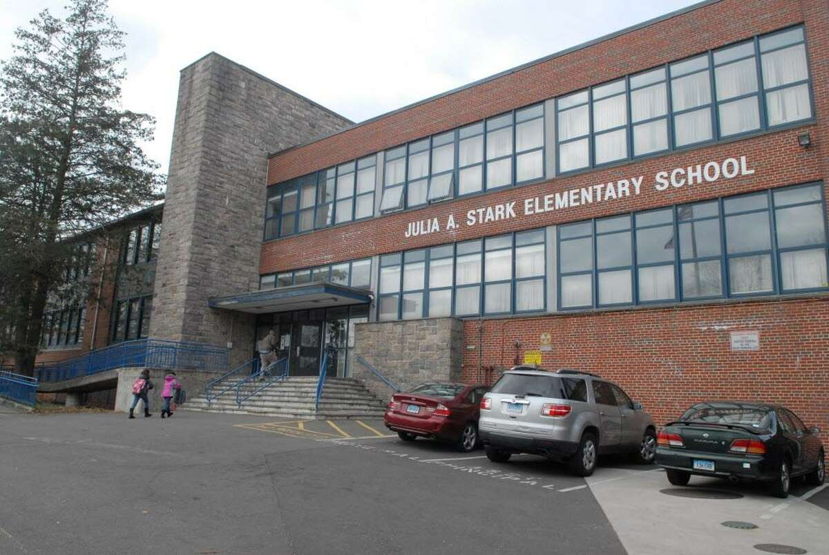 FILE - Julia A. Stark Elementary School in Stamford, Conn. on Monday November 19, 2012.