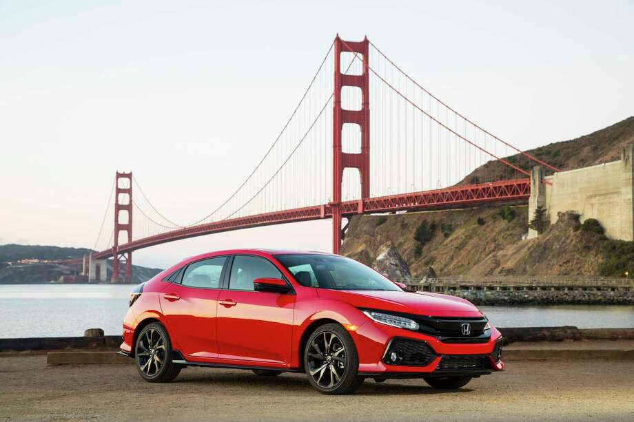 Honda Civics are among the cars most targeted by car thieves both in the Bay Area and nationwide. The following gallery shows the 10 most stolen cars in America, and the model years that had the most thefts in 2017. Source:National Insurance Crime Bureau (NICB) Photo: Photo Courtesy Of Honda / © 2016American Honda Motor Co., Inc.