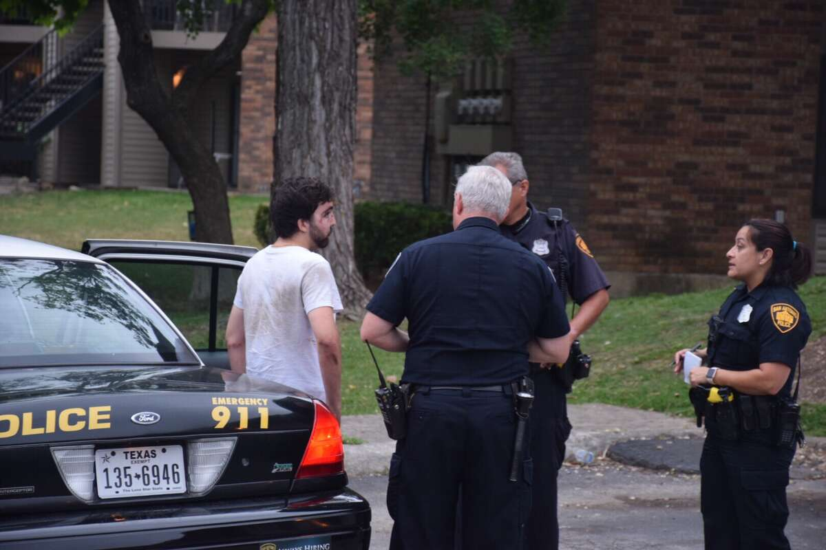 Police say four victims were zip tied and robbed of their personal belongings Thursday, May 18, 2017, at an apartment complex in the Northwest Side.
