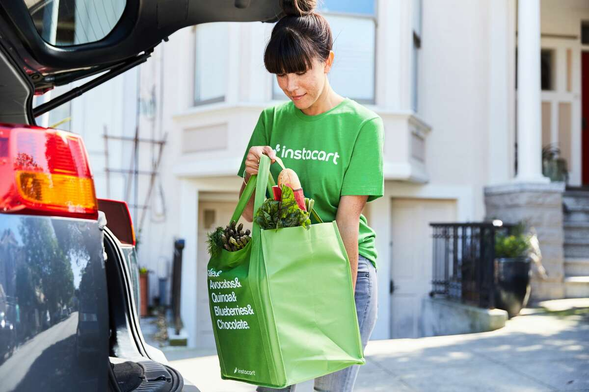 I order groceries on Instacart even though I've heard it's stressful to work for them, and also I literally live across the street from a grocery store!