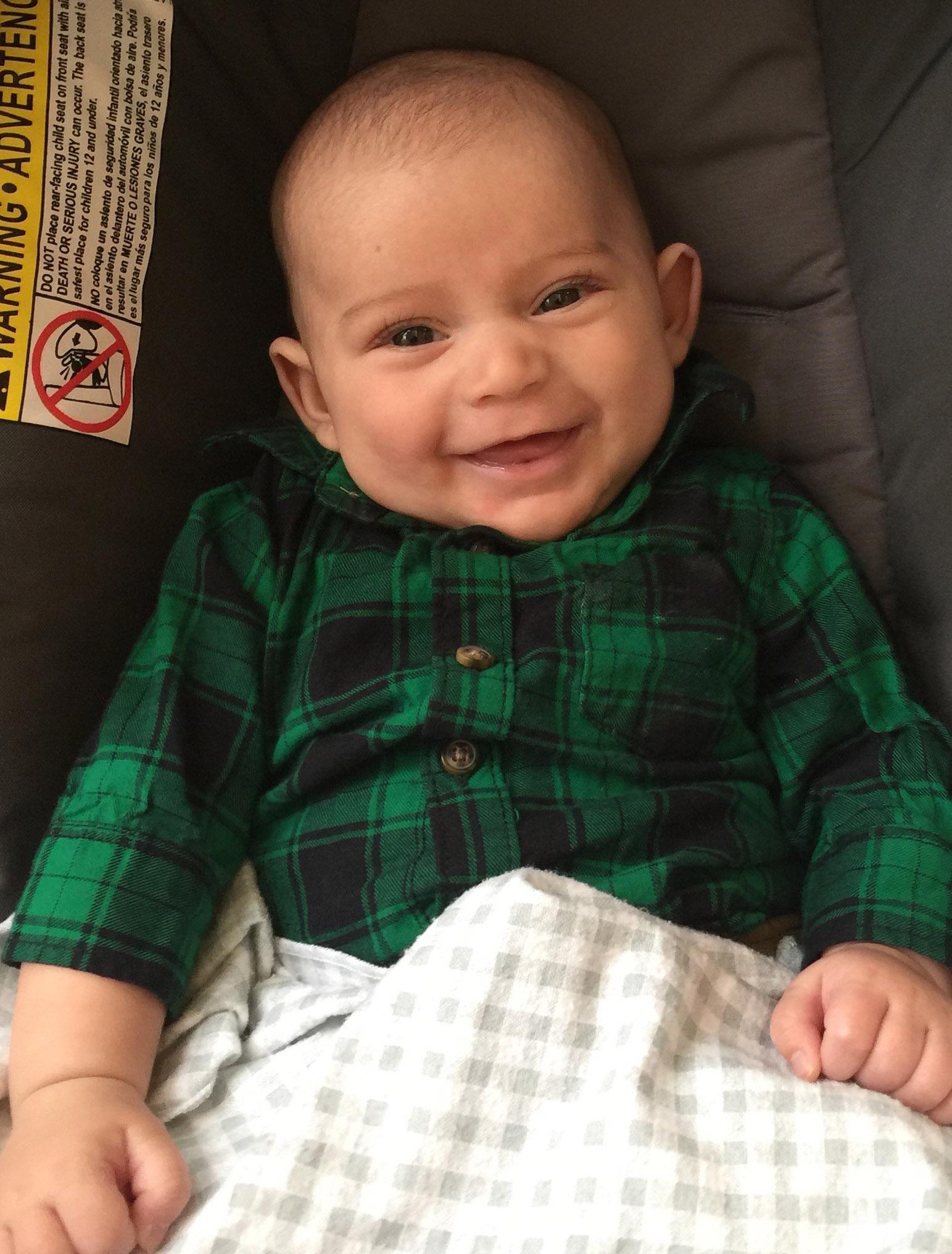 Sedating antihistamines for babies