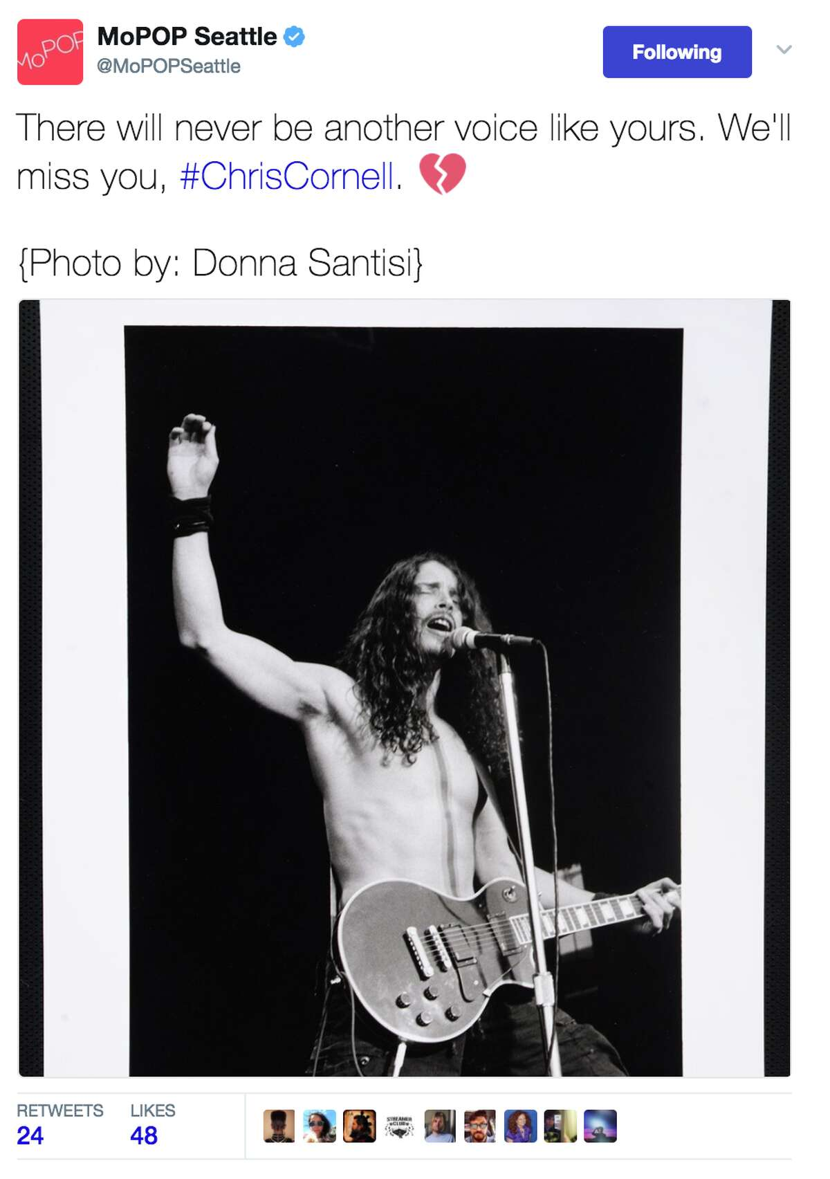Local reaction to the news of the death of Chris Cornell, Soundgarden frontman and Seattle grunge icon.