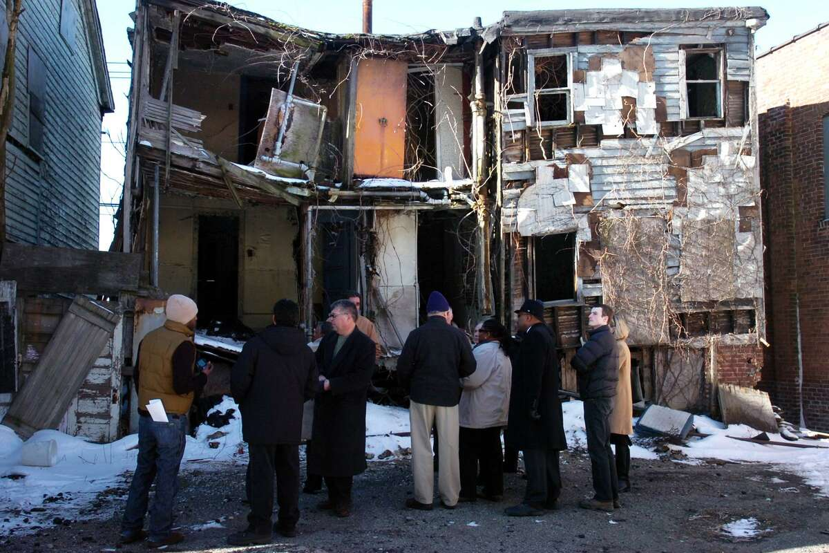 A tour of the Little Liberia houses in Bridgeport, Conn. Feb. 12th, 2010. On Friday, May 19, 2017, Keith W. Stokes, vice president of the 1696 Heritage Group, and a descendant of Bridgeport's pre-Civil War era African-American community, Little Liberia, will discuss