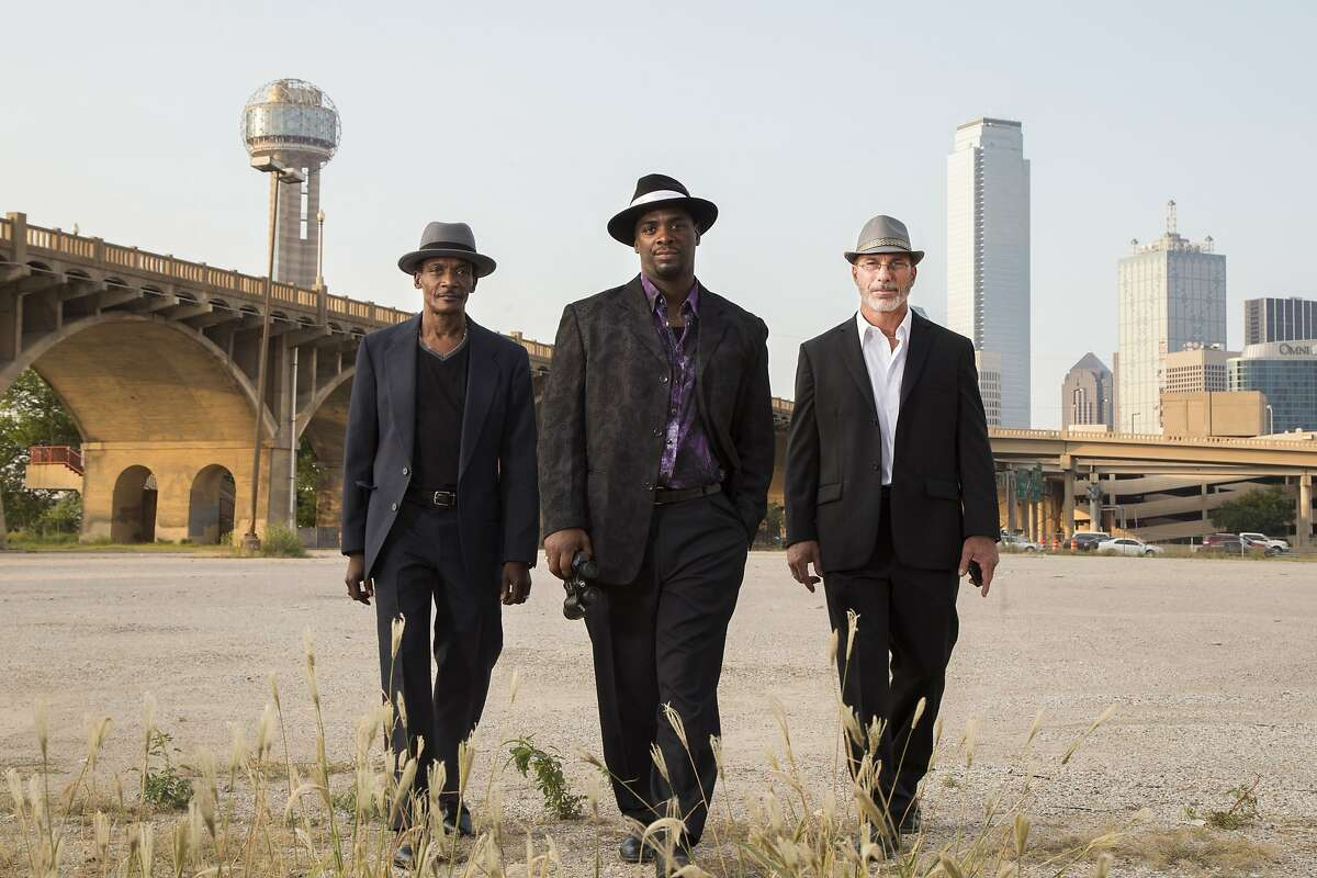 (l to r) Johnnie Lindsey, Christopher Scott and Steven Phillips in the new documentary