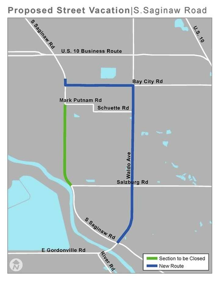 This map on the city's website shows another view of the proposed closure.
