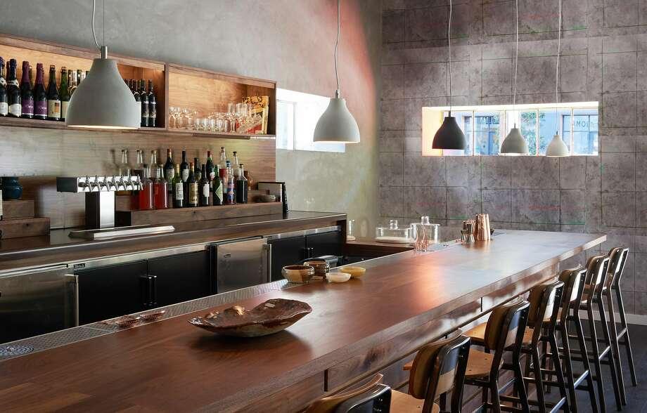 The bar at Alta CA in the Minnesota Street Project Photo: Marija Vidal