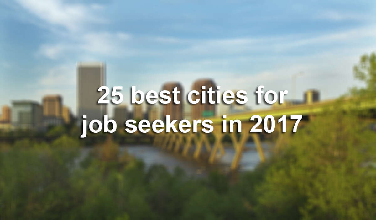 See the top places in the United States to look for a job in 2017.