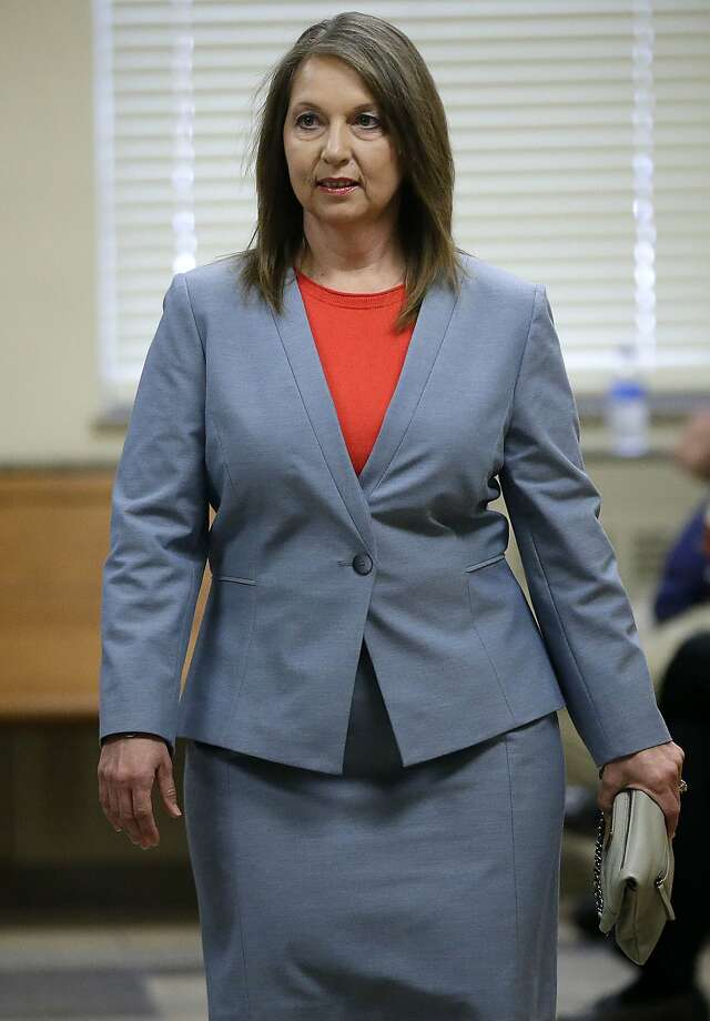 Tulsa police Officer Betty Jo Shelby said she fired her weapon out of fear. Photo: Mike Simons, Associated Press