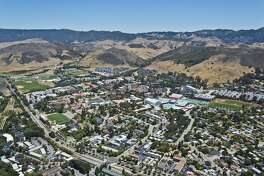 The California Polytechnic State University or Cal Poly also less formally known as Cal Poly at San Luis Obispo or Cal Poly San Luis Obispo is a public university located in San Luis Obispo, California, (Steve Proehl/Getty Images)