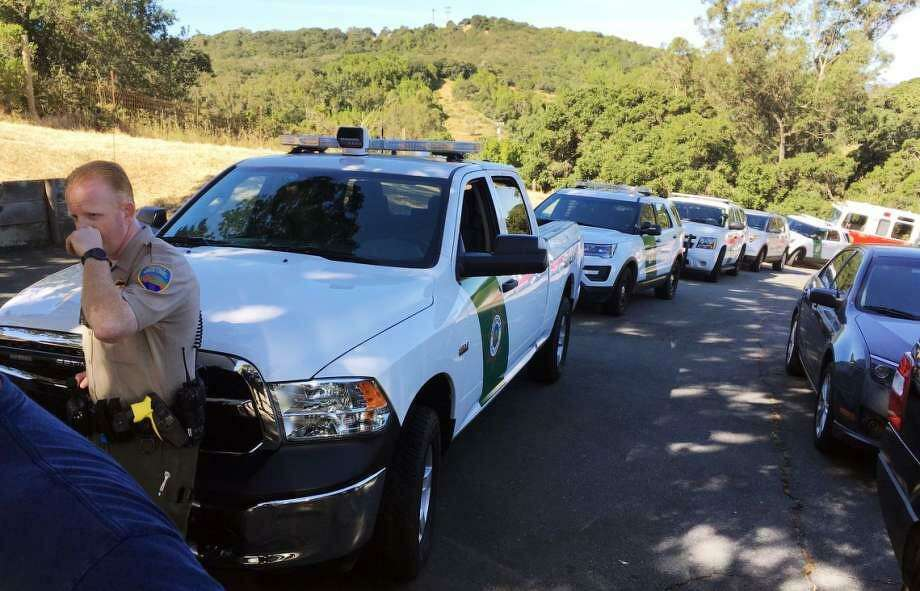 Marin County Sheriff's deputies were at the scene in Novato where two people were found dead with gunshot wounds inside a home.