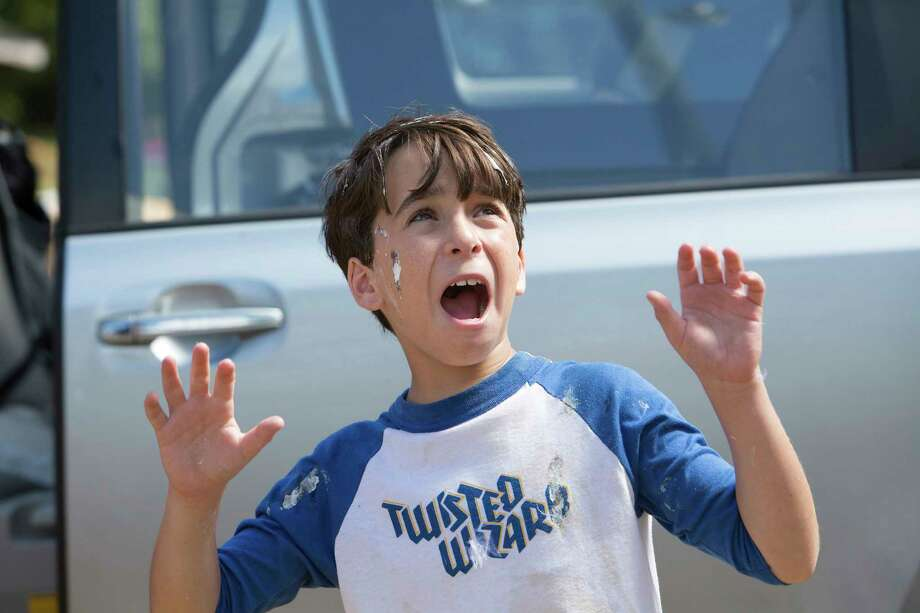 """This image released by Twentieth Century Fox shows Jason Drucker  in a scene from, """"Diary of a Wimpy Kid: The Long Haul."""" (Daniel McFadden/Twentieth Century Fox via AP) Photo: Daniel McFadden, HONS / TM & © 2017 Twentieth Century Fox Film Corporation. All Rights Reserved. Not for sale or duplication."""