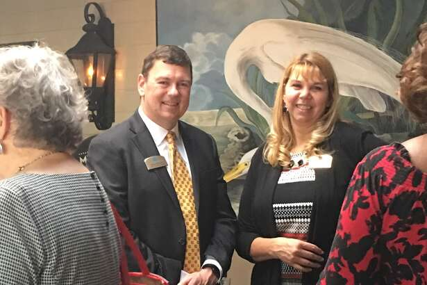 The Village of River Oaks hosted a gathering at the Backstreet Café for neighboring businesses and senior care professionals.