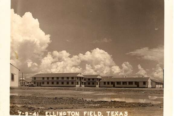 Construction at Ellington Field in 1941.