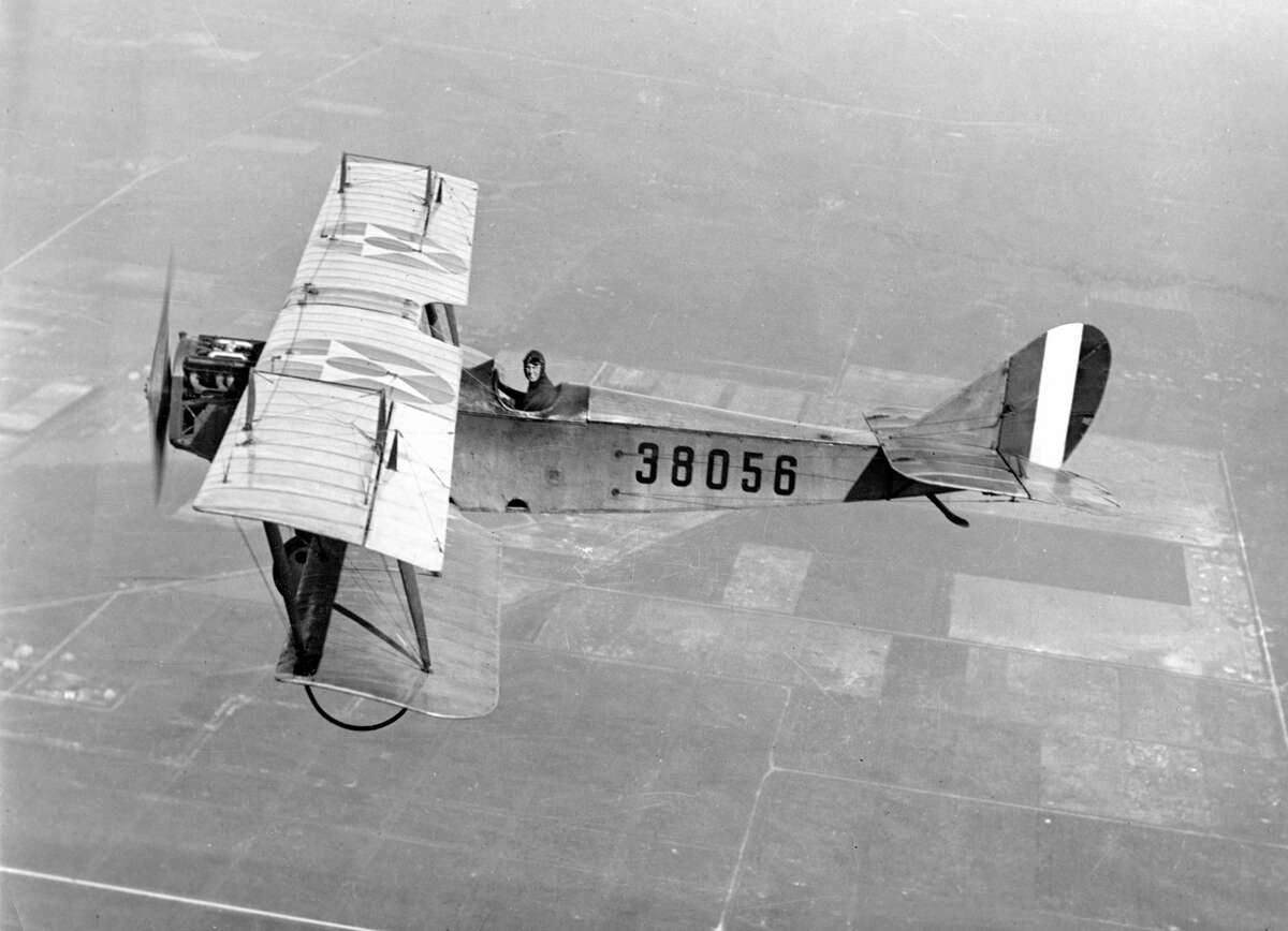 Ellington's 100th anniversary is May 21, 2017. Click through the photos to see its history, spanning the Curtiss Jenny during World War I to NASA training for its missions to the moon and the Predator drone.