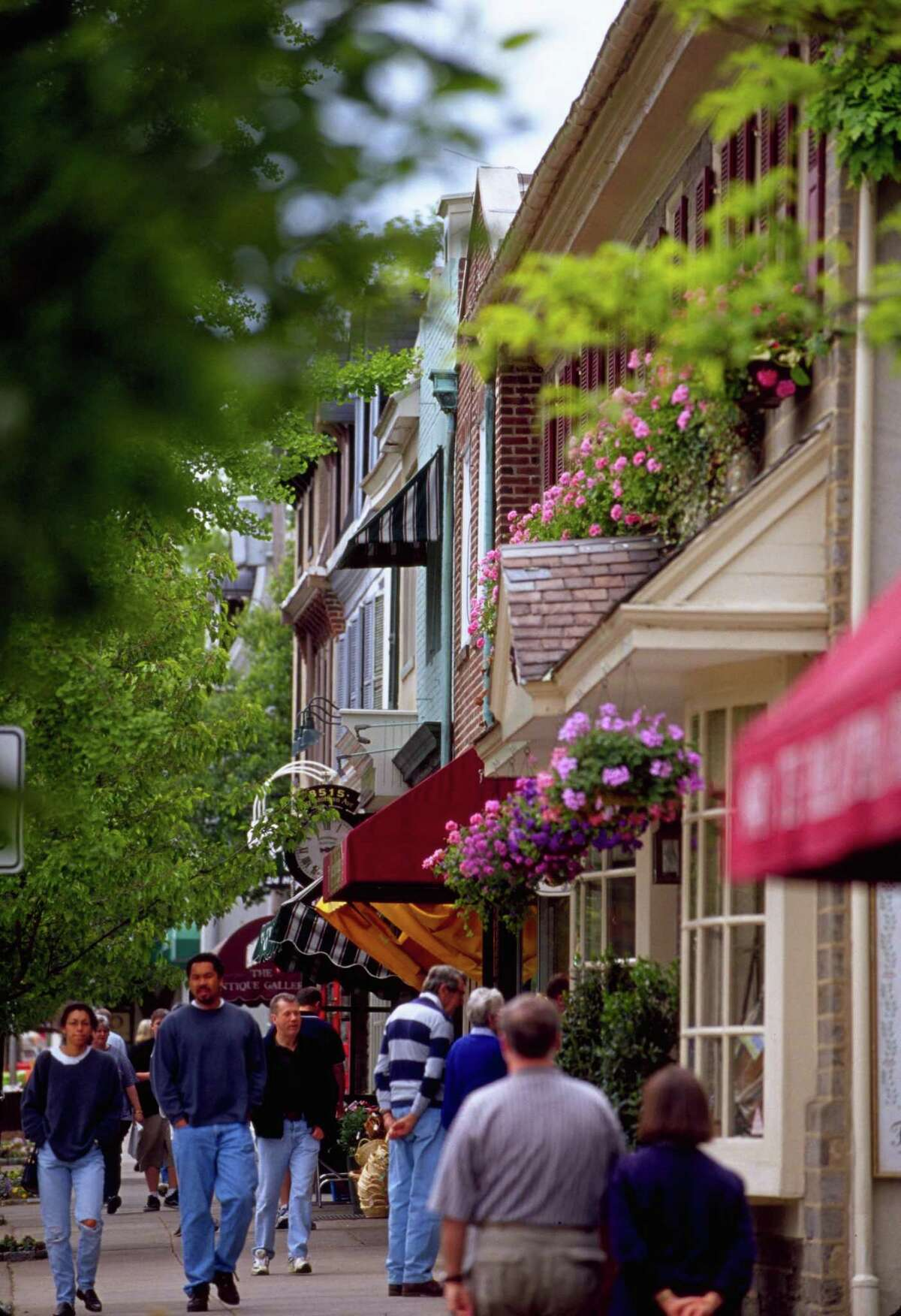Germantown Avenue is the shopping and dining hub for Philadelphia's tony Chestnut Hill neighborhood located on the northwest edge of the city.