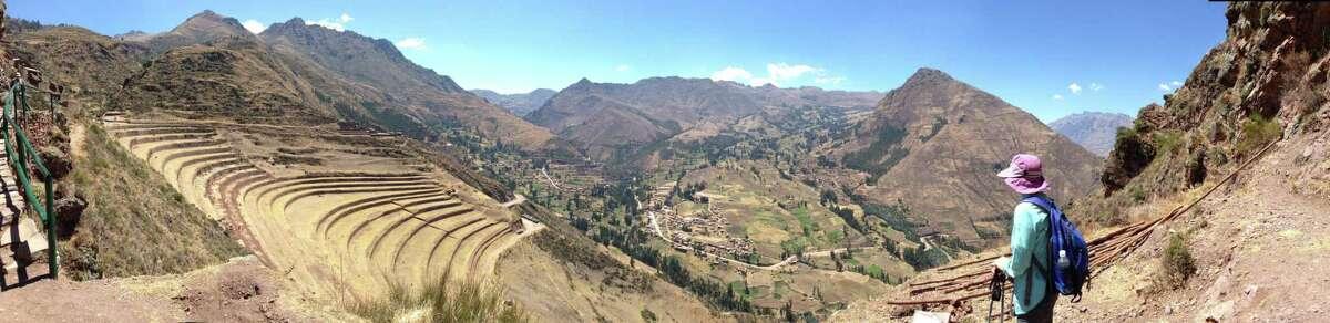 An educational tour to Machu Picchu in Peru.