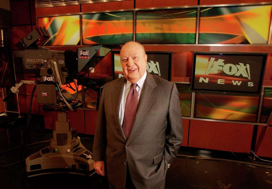 FILE - In this Sept. 29, 2006 file photo, Fox News CEO Roger Ailes poses at Fox News in New York.  Fox News said on Thursday, May 18, 2017, that Ailes has died. He was 77. (AP Photo/Jim Cooper, file) Photo: JIM COOPER, STR / AP2006