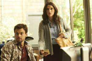 """Tommy Dewey plays Alex and Michaela Watkins is his newly divorced sister in Hulu's new comedy """"Casual."""""""