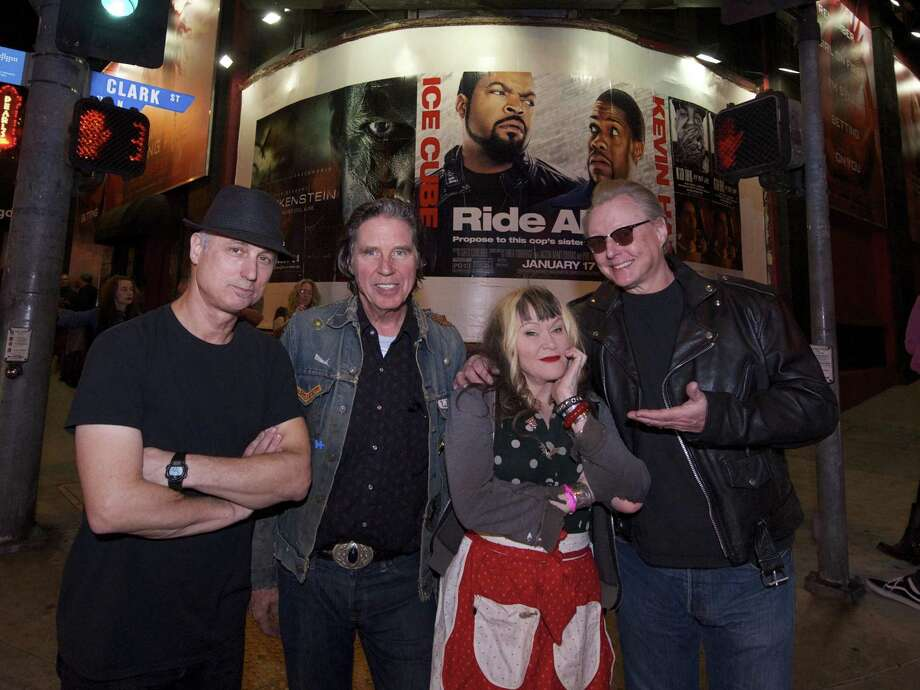The original members of the '80s Los Angeles punk band X are back on the road. Photo: Gary Leonard / Courtesy Gary Leonard / ©2013Gary Leonard