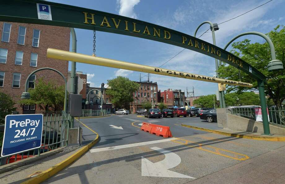 The Haviland Street Parking Deck Thursday, May 18, in Norwalk. The Norwalk Parking Authority is down to three finalists for $200,000 citywide capacity study of public and private spaces citywide. Photo: Erik Trautmann / Hearst Connecticut Media / Norwalk Hour