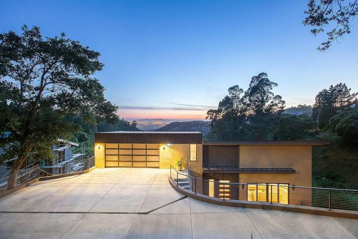 5685 Skyline Blvd. is a four bedroom zero-net energy home in Oakland available for $1.995 million.