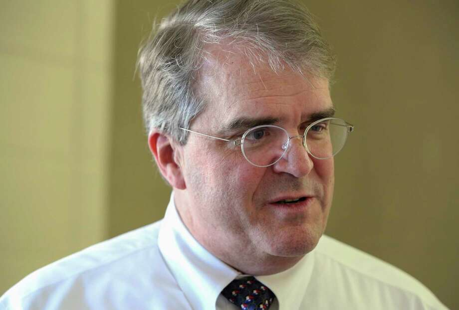 Congressman John Culberson is photographed during an interview before meeting his constituents from the 7th Congressional Distric for a town hall at Spring Branch Middle School Saturday, March 25, 2017, in Houston. ( Yi-Chin Lee / Houston Chronicle ) Photo: Yi-Chin Lee, Staff / Stratford Booster Club