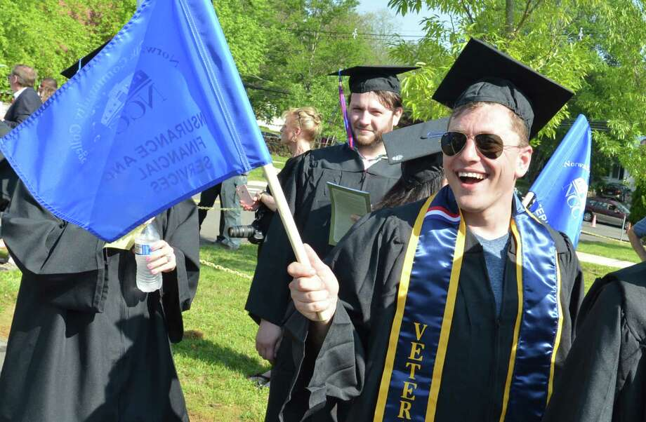 Norwalk Community College holds its  Fifty-Fifth Commencement Exercises on Thursday May 18, 2017 Photo: Alex Von Kleydorff, Hearst Connecticut Media / Norwalk Hour