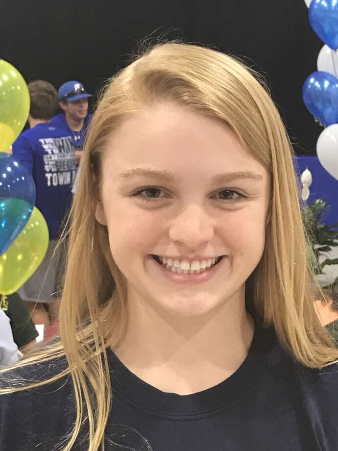 Trinity diver Margaret Rogers has signed a letter-of-intent to compete at the University of Michigan.
