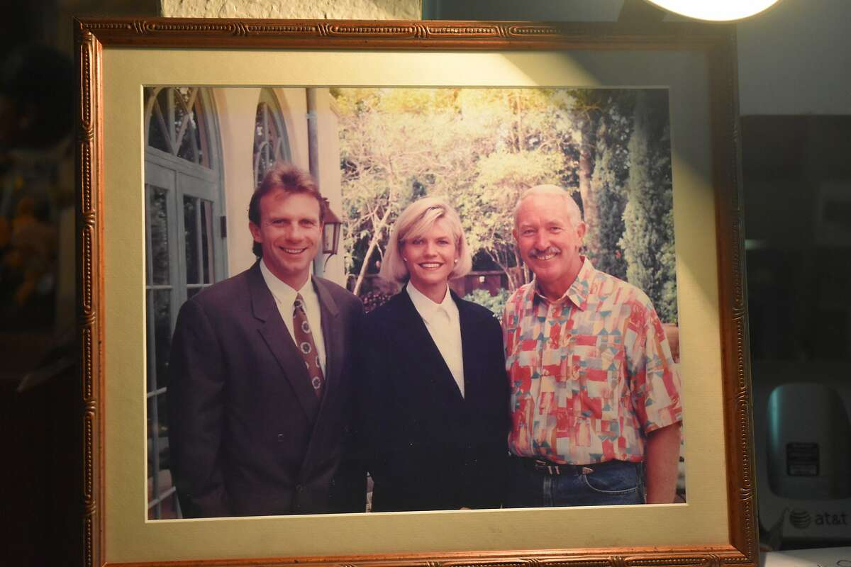 Joe Montana, Jennifer Montana and Wayne Walker, circa 1989