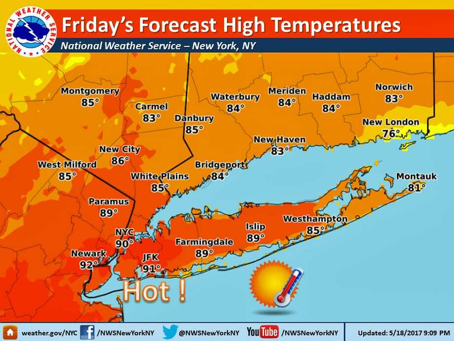 New Heat Records Set Cooler Temps For The Weekend