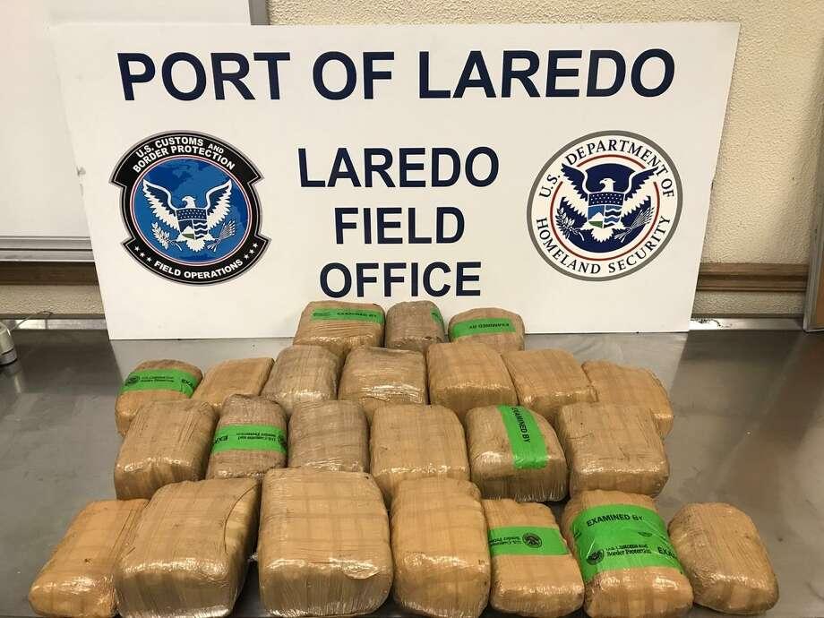 CBP recently seized more than $298,000 in alleged marijuana, cocaine and methamphetamine. Photo: CBP /Courtesy