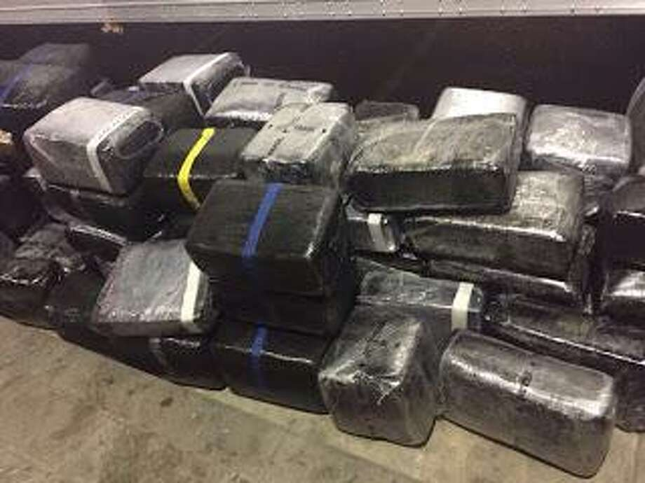 Shown are the more than 2 tons of marijuana seized by the Mexican army. Click through this gallery to see photos of drug busts from the Texas-Mexico border. Photo: Courtesy Photo /