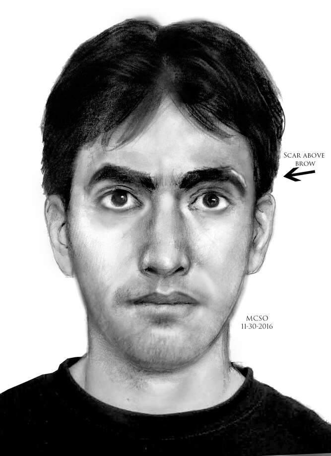 A sexual assault at an apartment in The Woodlands on Wednesday appears to be linked to at least two similar attacks there in recent months. This subject is suspected in all three. (Montgomery County Sheriff's Office)