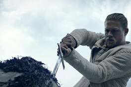 """Charlie Hunnam in a scene from """"King Arthur: Legend of the Sword."""""""