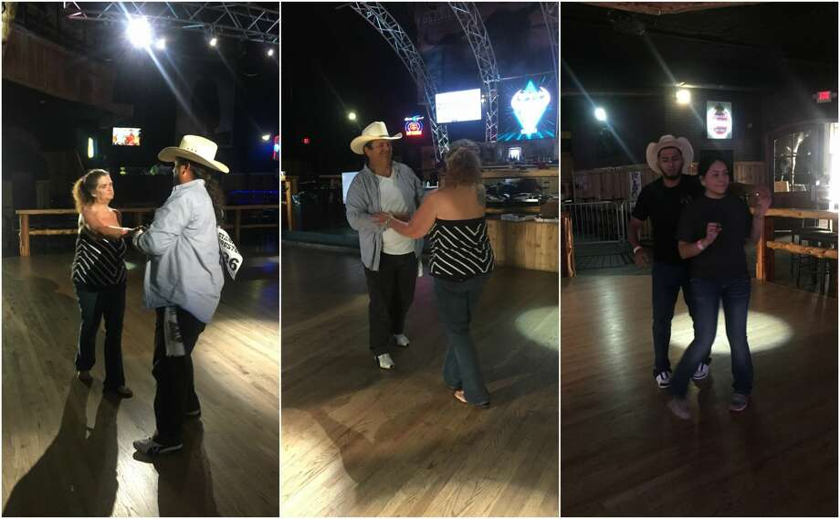 Two couples have been continuously slow dancing at Stampede Houston on the city's north side since Thursday morning in the hopes of breaking a world record and scoring George Strait tickets in Las Vegas. Dancing can be deadly? Click through to see how... Photo: Craig Hedrick / Stampede Houston