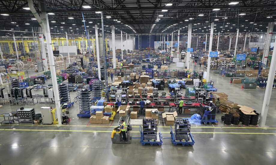 The $417 million Daikin Texas Technology Park is expected to put about 5,000 people to work in the Houston area through direct employment and related businesses. Photo: Steve Gonzales, Staff / © 2017 Houston Chronicle