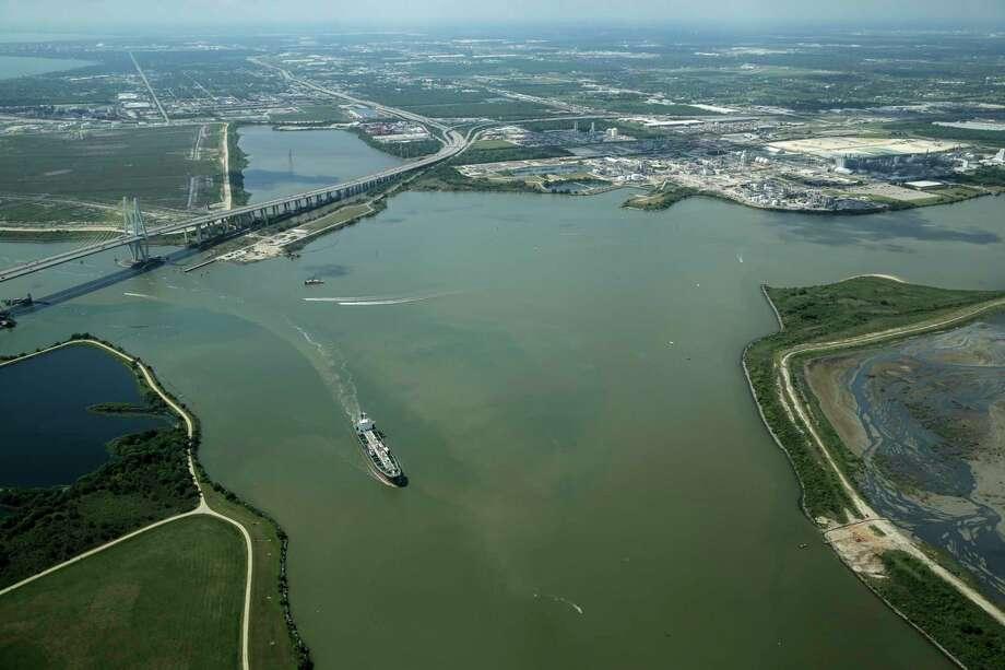 The Port of Houston on April 14, 2017. Photo: Elizabeth Conley, Houston Chronicle / © 2017 Houston Chronicle
