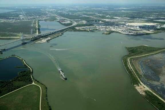 Port of Houston on  Friday, April 14, 2017.