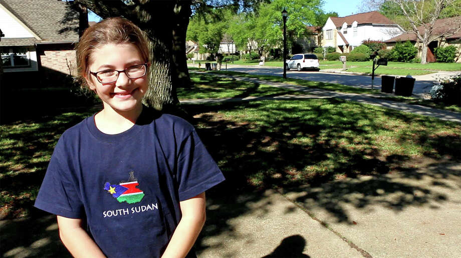 Fifth-grader, Allison Swann, might reside in the Cypress area, but she        is touching lives in South Sudan. The Post Elementary School student        decided for her 2016-2017 HORIZONS project that she wanted to raise        funds to implement a clean water system for a South Sudanese village. Photo: CFISD