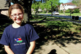 Fifth-grader, Allison Swann, might reside in the Cypress area, but she        is touching lives in South Sudan. The Post Elementary School student        decided for her 2016-2017 HORIZONS project that she wanted to raise        funds to implement a clean water system for a South Sudanese village.